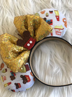Small Snacks Fabric Inspired Ears