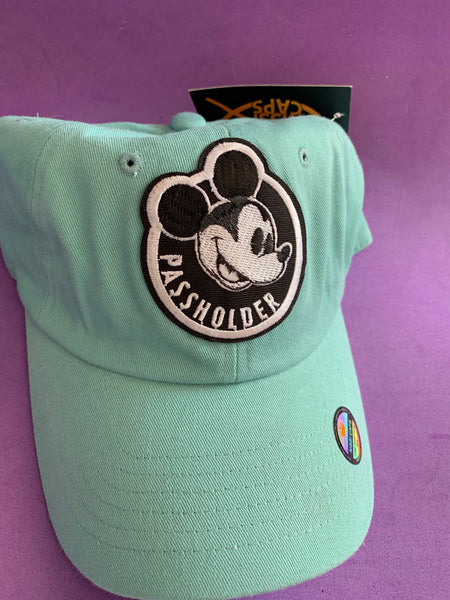 Color passholder hats
