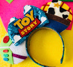 Toy story buzz and woody inspired ears