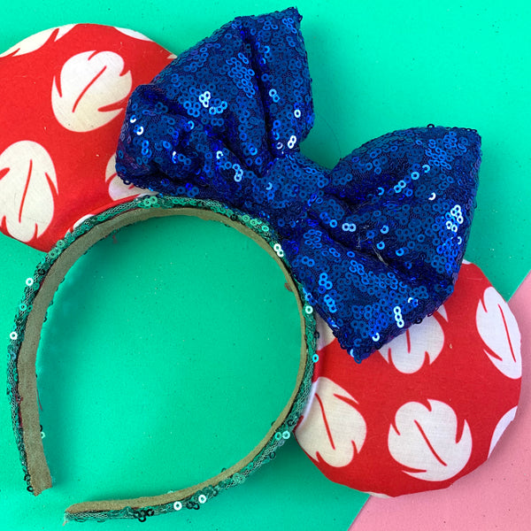 Lilo dress fabric ears
