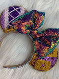 New holo Rapunzel Minnie ears