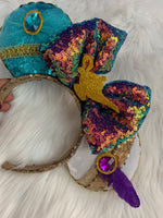 New holo Jasmine And Aladdin Minnie Ears