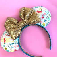Pooh and friends fabric ears