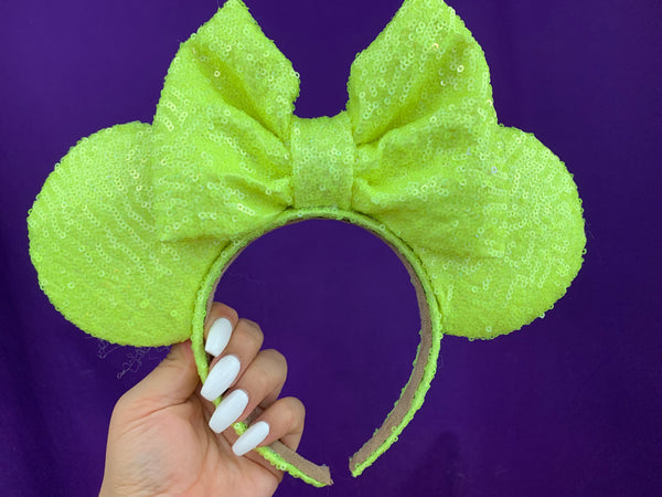 Neon yellow ears