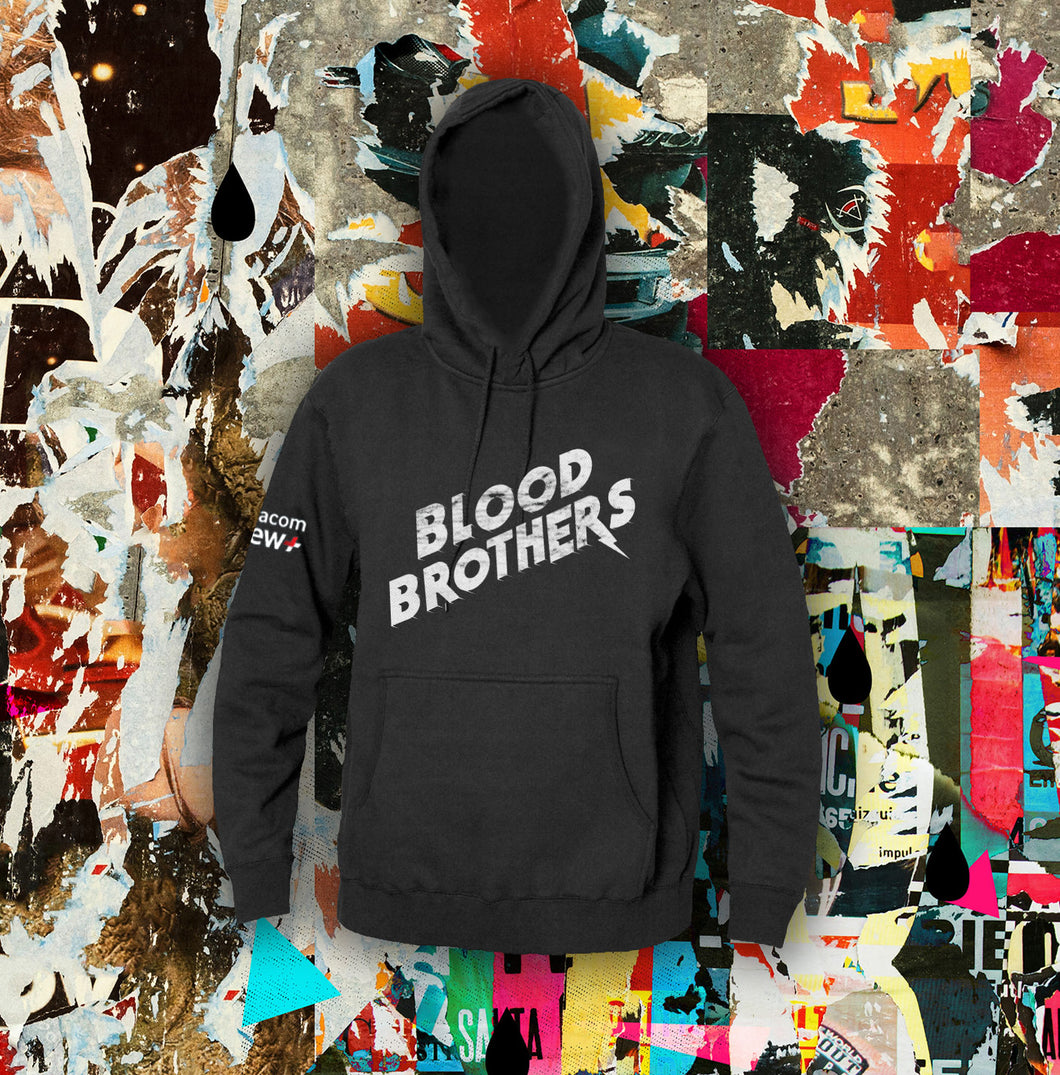 Blood Brothers Logo Design Hoodie