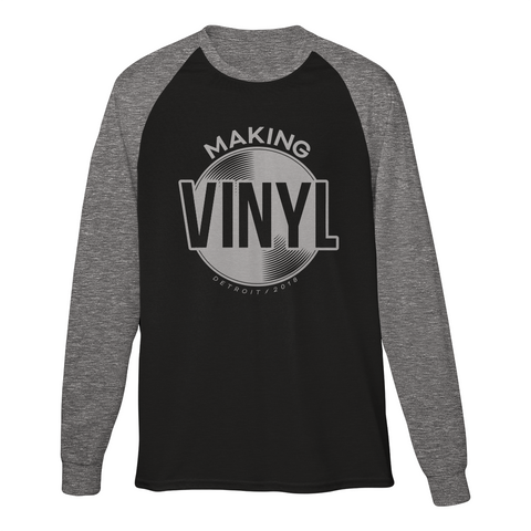 Making Vinyl Detroit 2018 Baseball Tee