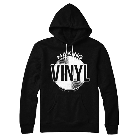 Making Vinyl Detroit 2018 Pullover Hoodie (Black)