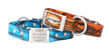 Personalized Wateproof & smell proof dog collar.