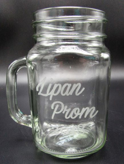 Mason Jar with handle