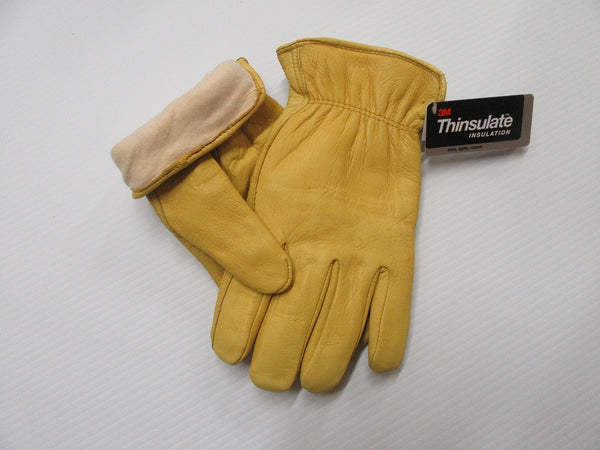 Insulated Leather Gloves