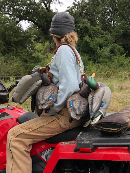 Leather Duck Game Carrier