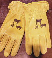 Leather Work Gloves for Men, Women, & Children, starting at $30