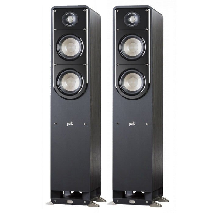 Polk Audio Signature S55 Tower Speakers 200w x 2 – Pair - Best Home Theatre Systems - Audiomaxx India