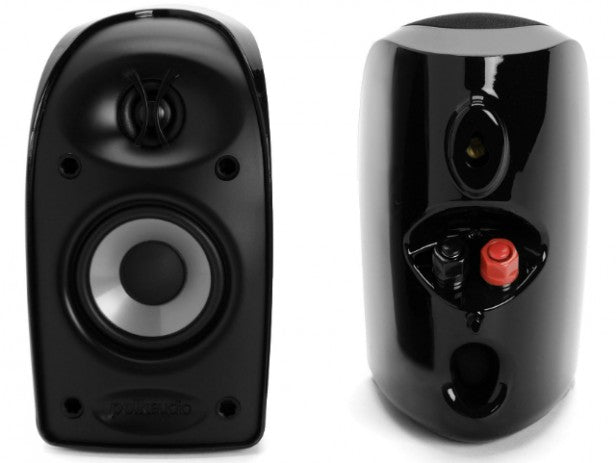 Polk Audio TL1600 BlackStone Satellite / OnWall Speaker Set - Dolby 5.1 Surround Sound Speaker Package # SP015 - Best Home Theatre Systems - Audiomaxx India