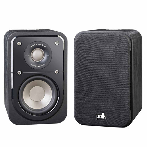 Polk Audio Signature S10  Compact Satellite Surround Speaker For Home Theater System- Pair - Best Home Theatre Systems - Audiomaxx India