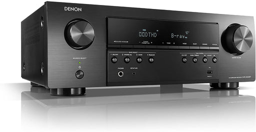 Denon AVR x250BT 5.2 Ch. Audio-Video Receiver 130w x 5 Bluetooth HDMI 4K DTS-HD True-HD  HDCP2.2 ARC - Best Home Theatre Systems - Audiomaxx India