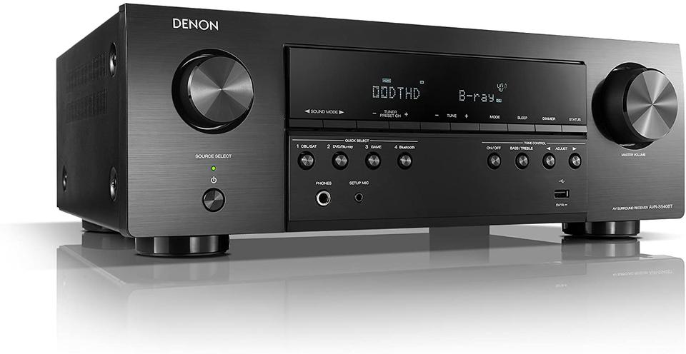 "Denon AVR X2600H With Control One Speaker Set + A120P 12"" Subwoofer - Dolby 5.1 Home Theater Package # AM501067 - Best Home Theatre Systems - Audiomaxx India"
