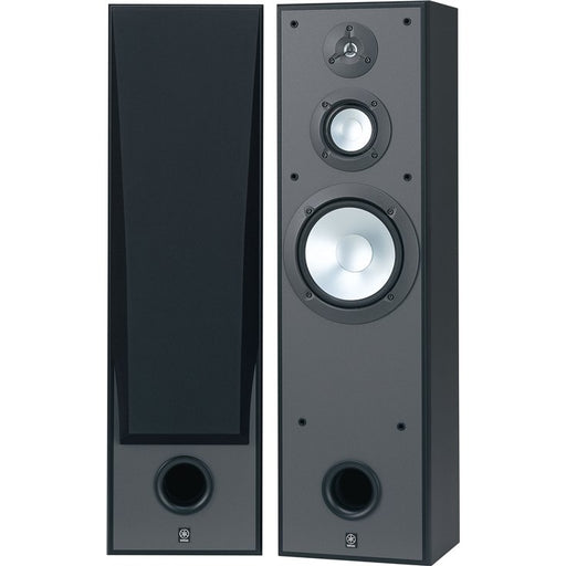 Yamaha NS-8390 Tower Speakers Pair  – Black - Best Home Theatre Systems - Audiomaxx India