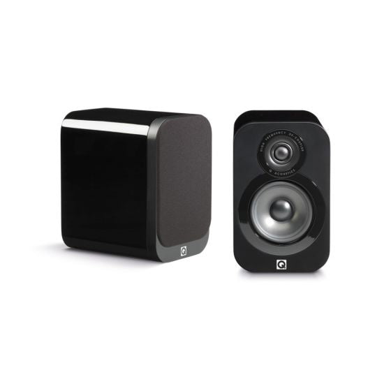 Q Acoustics Q3010i Compact Bookshelf Speakers-(Pair) - Best Home Theatre Systems - Audiomaxx India