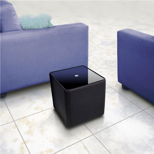 KEF Kube 8 Powered Subwoofer A Pocket Sizes Power Puncher - Best Home Theatre Systems - Audiomaxx India