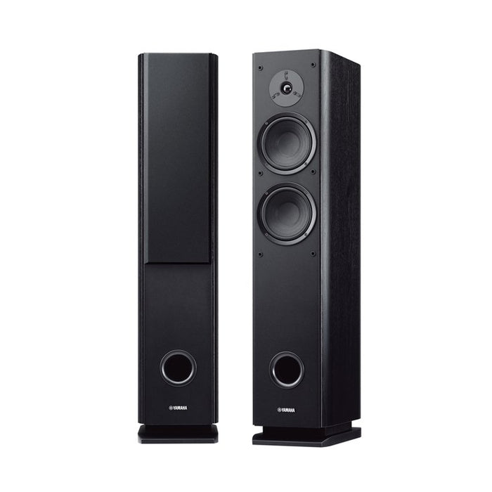 Yamaha NS-F160 Tower Speaker Pair - Black - Best Home Theatre Systems - Audiomaxx India