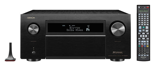 Denon AVR x8500H Audio Video Receiver,150w/Ch. 11.2 Dolby Atmos, Dolby Vision With WiFi, 4K, DTSx, Auro 3D, - Best Home Theatre Systems - Audiomaxx India