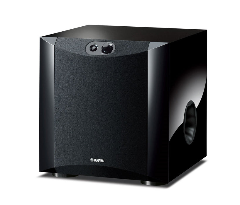 Yamaha NS-SW200 Active Subwoofer, 8 Inches / 130w - Black - Best Home Theatre Systems - Audiomaxx India