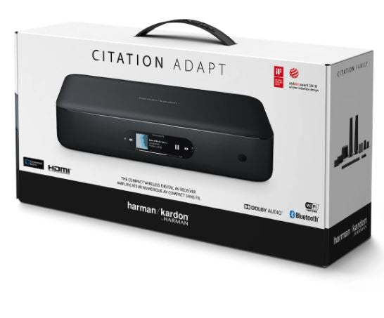 Harman Kardon Citation Adapt 5.1Ch. AV Receiver For Wireless Home Theater System - Best Home Theatre Systems - Audiomaxx India