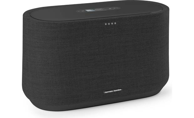 Harman Kardon Citation 300 - Wireless Smart Speaker With Google Assistant and Chromecast Built-in (Black) - Best Home Theatre Systems - Audiomaxx India
