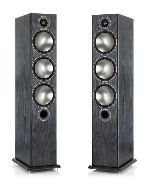 Monitor Audio Bronze6 Tower Speakers Pair 150w x 2- Black - Best Home Theatre Systems - Audiomaxx India