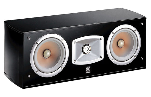 Yamaha NS-C444 Center Speaker For Home Theater System - Black - Best Home Theatre Systems - Audiomaxx India