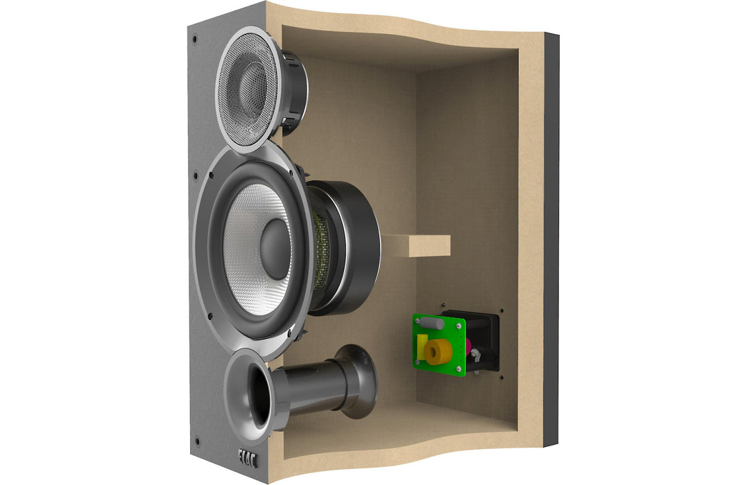 ELAC Debut 2.0 B5.2 Bookshelf Speakers Pair - Black - Best Home Theatre Systems - Audiomaxx India