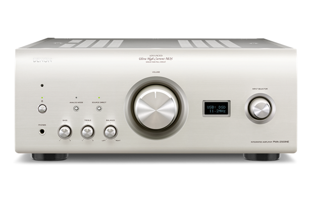 Denon PMA-2500NE Integrated Stereo Amplifier 160w + 160w With DAC, USB Input & Advanced Al32 Processing - Best Home Theatre Systems - Audiomaxx India