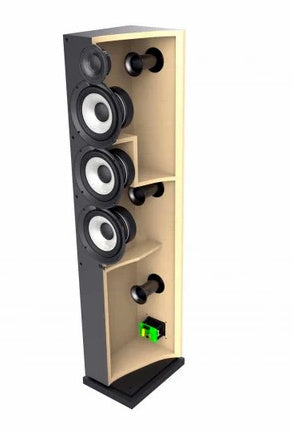 Elac Debut 2.0 F5.2 Tower Speakers For Home Theater - (Pair)