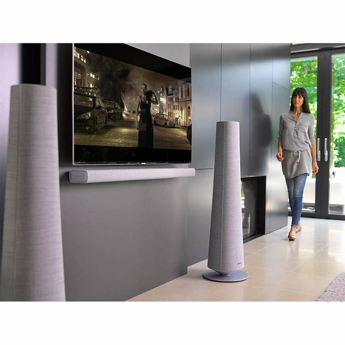Harman Kardon Citation Wireless Towers Speakers With Built-In Google Assistant and Chromecast - Best Home Theatre Systems - Audiomaxx India