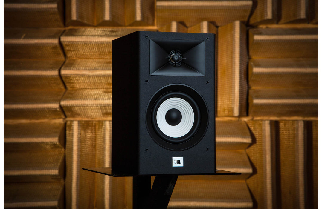 JBL A130 Bookshelf Speakers For Stereo and Home Theater System