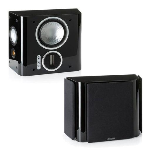 Monitor Audio Gold FX Bipole/Dipole Surround Speakers Pair 100w x 2 - Black - Best Home Theatre Systems - Audiomaxx India