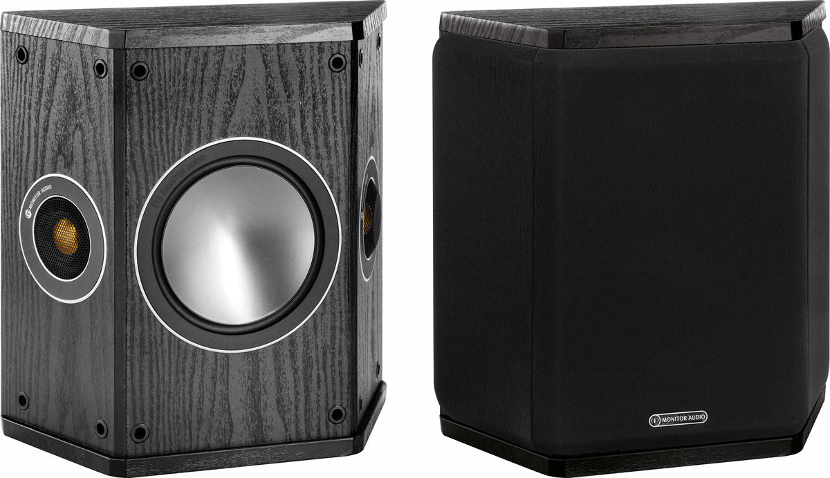 Monitor Audio Bronze Fx Bipole/Dipole Surround Speakers Pair 70w x 2 - Black - Best Home Theatre Systems - Audiomaxx India