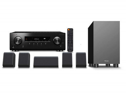 Pioneer HTP-076 Full Home Theater System In A Box (HTIB) - 5.1 Dolby Home Theater Package # AM501003 - Best Home Theatre Systems - Audiomaxx India