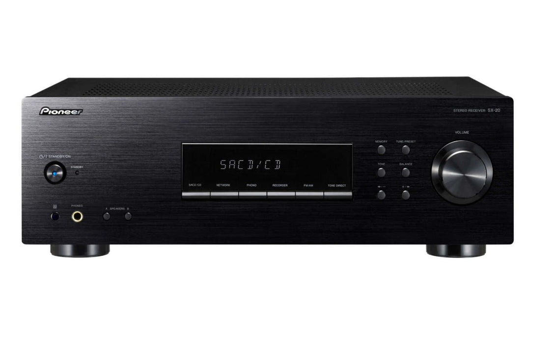 Pioneer SX-20-K Stereo Amplifier With Phono Input and FM/AM Tuner - Best Home Theatre Systems - Audiomaxx India
