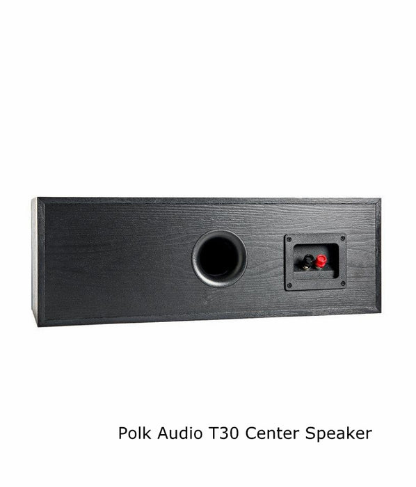 Yamaha RXV-685 Audio-Video Receiver With Polk Audio Fusion T50 Tower Speakers Set - Dolby Atmos 7.1 Home Theater Package # AM701016 - Best Home Theatre Systems - Audiomaxx India