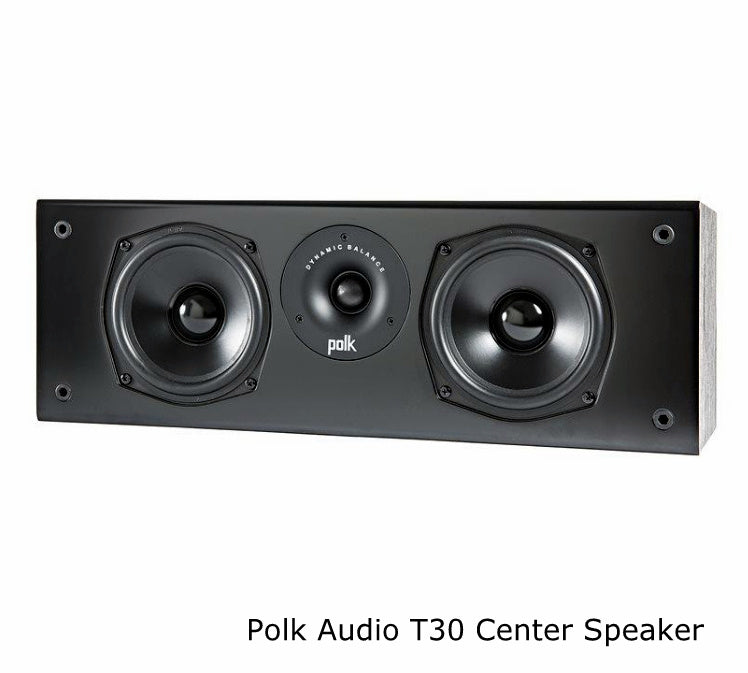 Yamaha RXV585 Audio-Video Receiver With Polk Audio T50 Fusion Speaker Set - Dolby Atmos 7.1 Home Theater Package # AM701006 - Best Home Theatre Systems - Audiomaxx India