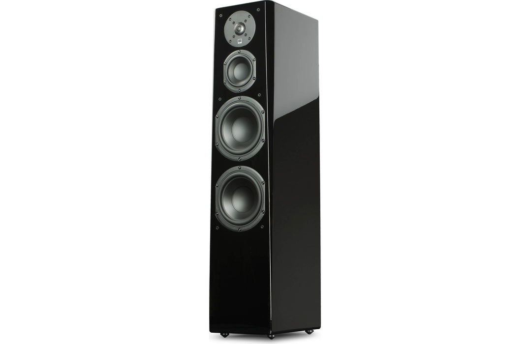 SVS Prime Tower Floor-Standing Speaker Pair - (Gloss Black) - Best Home Theatre Systems - Audiomaxx India