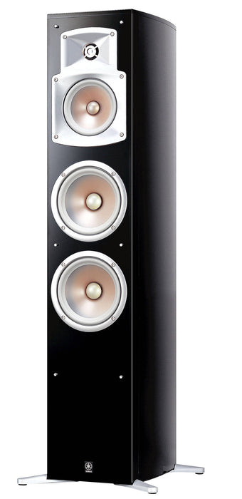 Yamaha NS-555 Tower Speakers Pair - Black - Best Home Theatre Systems - Audiomaxx India