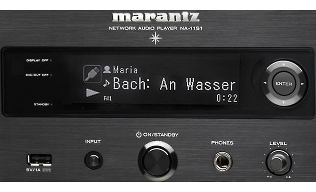 Marantz NA-11S1- Reference Series Network Music Player with Apple AirPlay® - Best Home Theatre Systems - Audiomaxx India