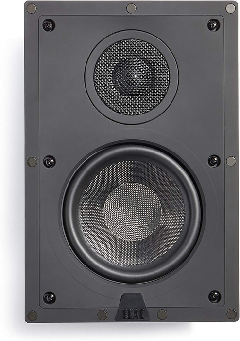 ELAC IW-J61-W In-Wall Speaker - Best Home Theatre Systems - Audiomaxx India