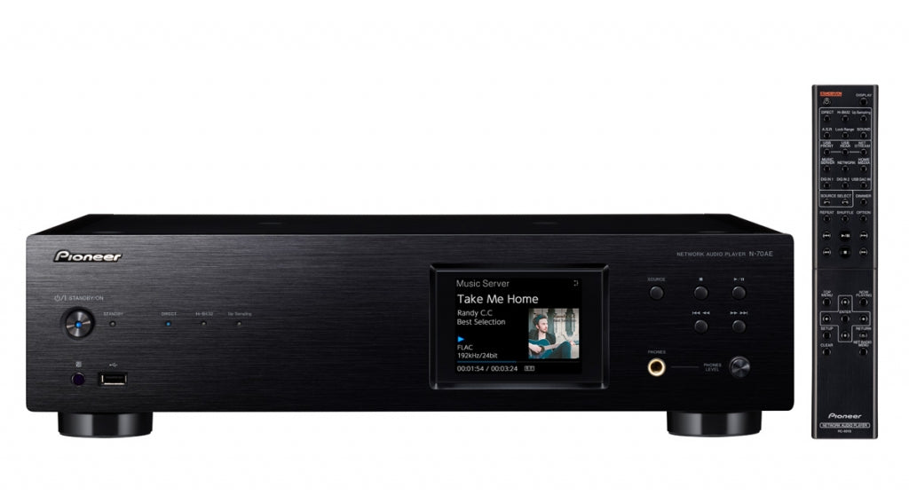 Pioneer N-70AE Network Player - Best Home Theatre Systems - Audiomaxx India
