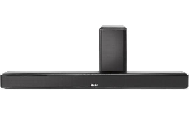 Denon DHT-S514 Home Theater Soundbar With Wireless Subwoofer and Bluetooth® - Best Home Theatre Systems - Audiomaxx India