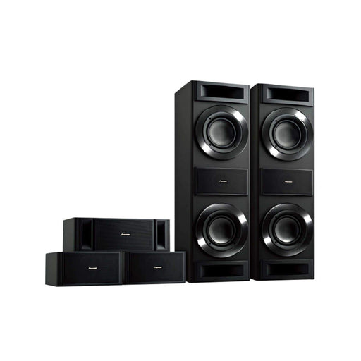Pioneer S-RS88TB Tower Home Theater Speaker Set -  Dolby 5.0 Surround Sound Speaker Package # SP068 - Best Home Theatre Systems - Audiomaxx India