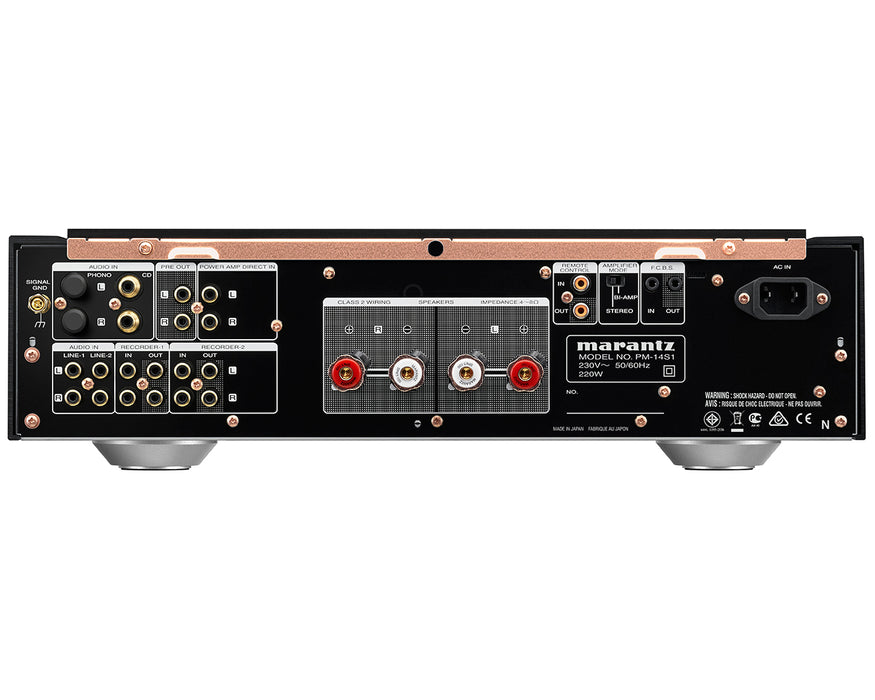 Marantz PM-14S1SE Integrated Stereo Amplifier - Best Home Theatre Systems - Audiomaxx India